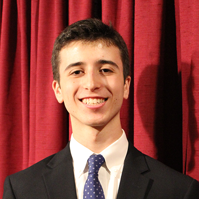 A photo of Wells Scholar Sam Epstein